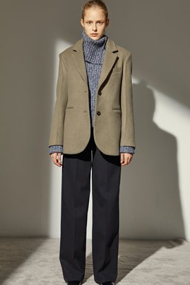 WOOL TAILORED JACKET_KHAKI BEIGE