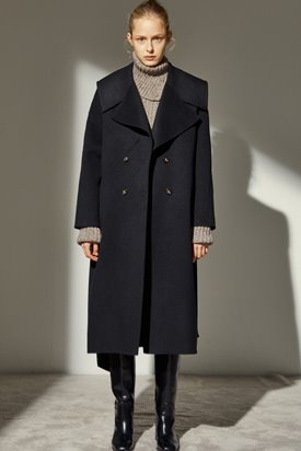 HANDMADE SAILOR COAT_BLACK